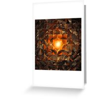 'The Perfect Mirror of Selective Memory' Greeting Card