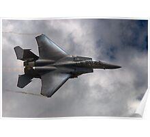 F-15E Strike Eagle on the Edge Poster