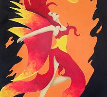 Fire Dancer by Laura Dhir