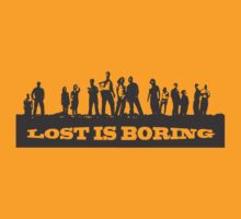 Lost is Boring by Diwash