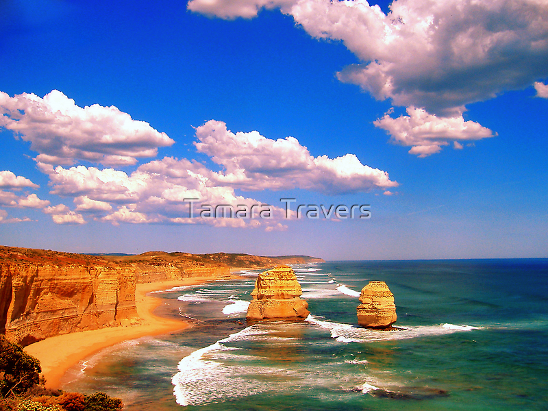 The Twelve Apostles, Great Ocean Road by Tamara Travers