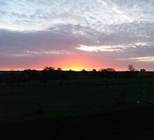 Avebury Sunrise May 08 by Skeee