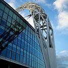 Wembley Arch by Tom Clancy