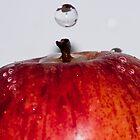 apple droplet by frank Yule