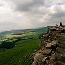 Stanage Edge, Derbyshire by Paul Woloschuk