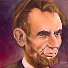 Portrait of Abraham Lincoln by Lester Yocum