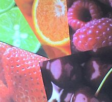 Fruit Collection/Collage by Terri-Leigh Stockdale