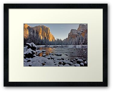 Yosemite Valley Winter 2009 by photosbyflood