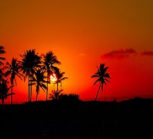 """CHERRY SUNSET"" - Mozambique by Magaret Meintjes"