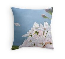 Delicate Sprinkles of Delight Throw Pillow