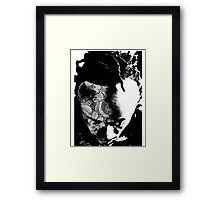 Blacklace 2 Framed Print