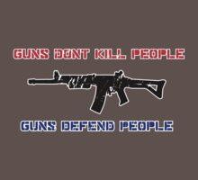 Guns Kill People by JamesHurrell