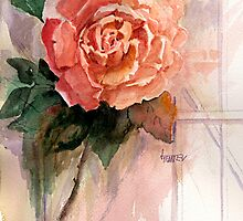 Shirley's Rose by jimmie