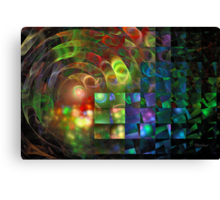 'When Light Meets Illusion' Canvas Print