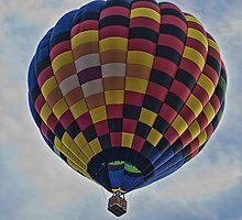 Colorful Balloon by grinandbearit