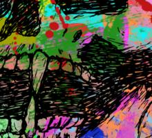 Colorful Skull Sticker
