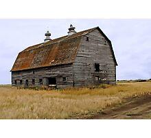 Rusty Roof Photographic Print