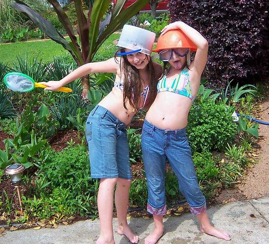 Goofy Girls! by Solar Zorra