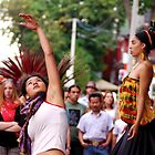 Portrait: Dancers in Kensington Market (Colour) by David Warren