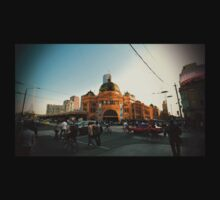 photoONtee - flinders at dusk  by ahxiong