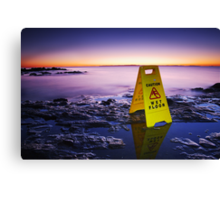 The Janitor at the End of the World Canvas Print