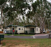 Mannum Caravan Park by Nathan Waddell