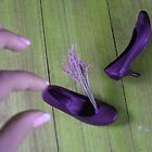 Lavender Shoes by visualmetaphor