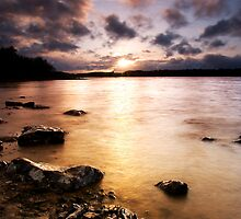 Colt Crag sunset by james  thow