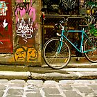 Melbourne Graffiti - Hosier Lane by Louise Fahy
