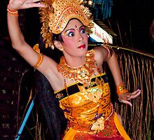 Balinese Dancer 2 by Werner Padarin