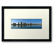 Broadwater Morning Framed Print