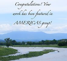 Banner for Americas group challenge by raindancerwoman