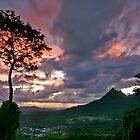 Sunrise From The Pali, Oahu by photosbyflood