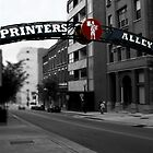 Printer&#x27;s Alley by Karen  Helgesen