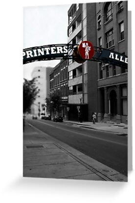 Printer's Alley by Karen  Helgesen