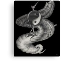 yin yan Canvas Print