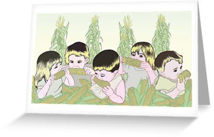 Children of the Corn by Raewyn Haughton