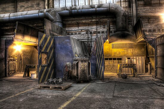 Welding stations by Richard Shepherd
