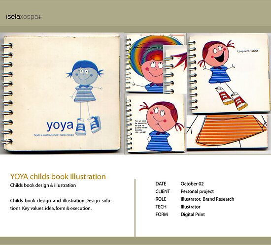 childrens book Illustration by Xospa Tronik