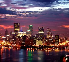 Pittsburgh after a storm by wbelajac