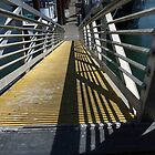 Walkway To The Mooring Docks by Joe Powell