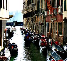 Gondolas in Venice by dial