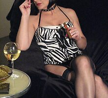 Ms Cath smokes a fat one by MistressCath