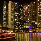 Singapore River by Adrianne Yzerman