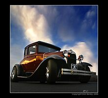 """Hot Rod Ford at Top Gun III"" by Don Bailey"
