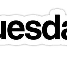 The Week - Tuesday Sticker