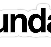 The Week - Sunday Sticker