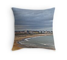 Aberdeen Beach,Scotland Throw Pillow