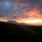 Table Mountain Sunset by StefZao