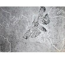 Woodcut: Lace Moth Photographic Print